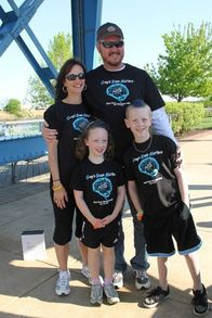 The Winning Fundraising Team! T-Shirt Photo