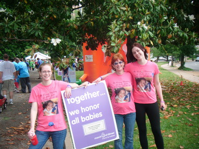 March For Babies 2011 T-Shirt Photo
