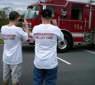 Shenandoah Valley Fire T-Shirt Photo