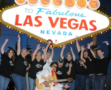 Our Mad Crazy Vegas Wedding T-Shirt Photo