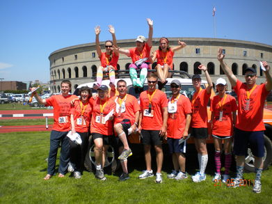 Smelly And Sore! Ragnar Ne Team #38  T-Shirt Photo