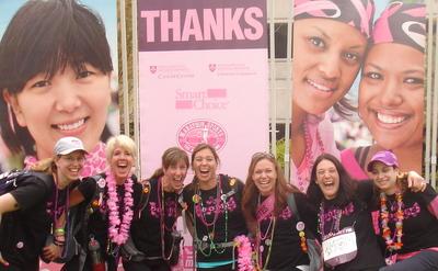 Avon Walk For Breast Cancer T-Shirt Photo
