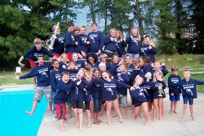 Sac Swim Team Crazy T-Shirt Photo
