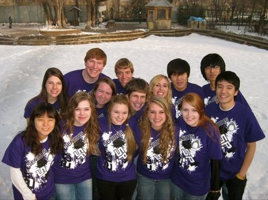 Senior Penguins T-Shirt Photo