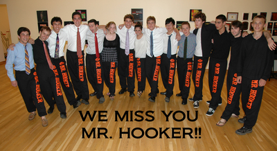 We Love You Mr. Hooker! T-Shirt Photo