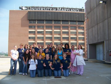 Shock Trauma Field Trip Representing Biomed T-Shirt Photo