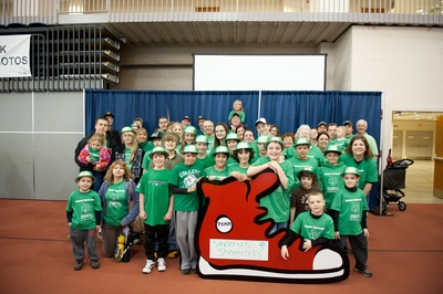 Shamus' Shamrocks Walk To Cure Diabetes T-Shirt Photo