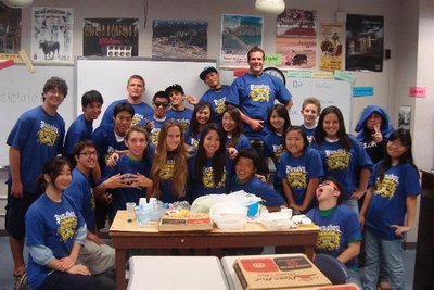 Mr. Earle's Homeroom   Punahou Seniors '12 T-Shirt Photo