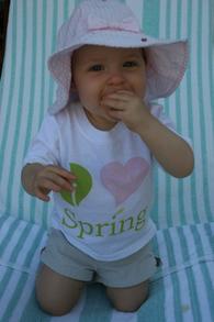 Belle Loves Spring T-Shirt Photo
