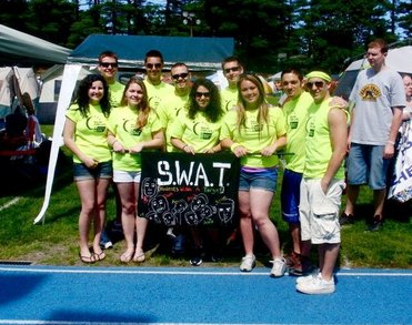 Swat Team   Relay For Life 2011 Of Methuen, Ma T-Shirt Photo