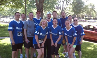 Work 5 K Run   The After T-Shirt Photo