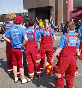 Venturers Firematics Day 6/5/11 T-Shirt Photo