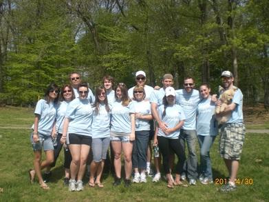 Lrf 2011 Nj Mercer County Park Walk A Thon T-Shirt Photo