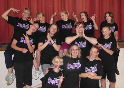 Our Crazy Wonderful Dance Away Fibromyalgia Ladies!!! T-Shirt Photo