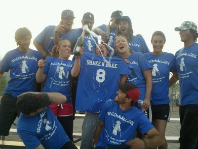 Poppin' Bubbly And Winnin' In Style! T-Shirt Photo