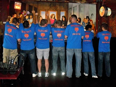 Montreal Dual Bachelor Party 2011 T-Shirt Photo