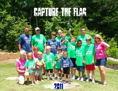Capture The Flag  2011 T-Shirt Photo