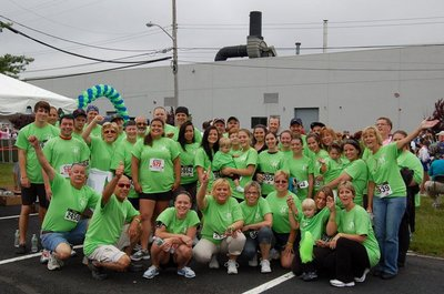 Team Courtney! Donate Life 5k T-Shirt Photo
