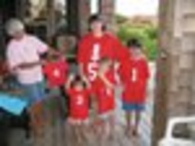 Memaw's Brood Of Grandchildren T-Shirt Photo