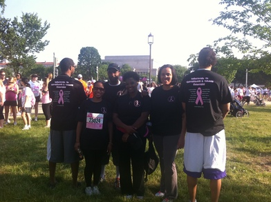 Race For The Cure 2011 (Washington, Dc) T-Shirt Photo