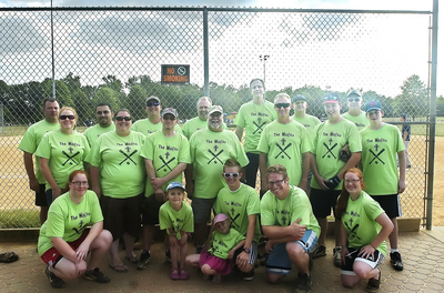 "Church Softball Team ""The Misfits"" T-Shirt Photo"