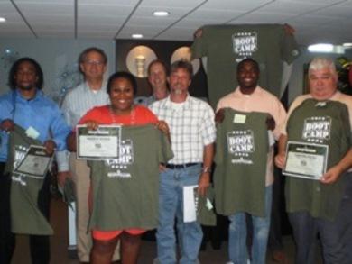 Boot Camp Graduates T-Shirt Photo