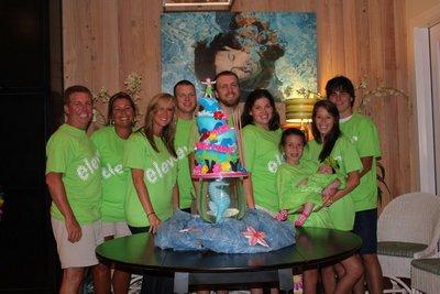 Mk's 11th Birthday Luau T-Shirt Photo
