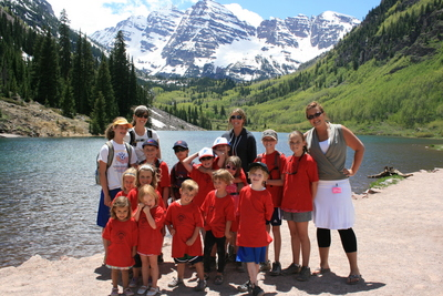 Maroon Bells T-Shirt Photo