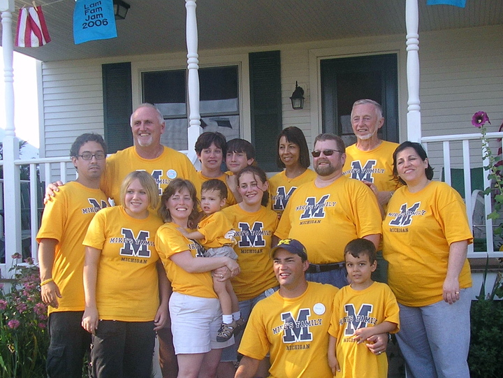 The Michael Lammers Family T-Shirt Photo