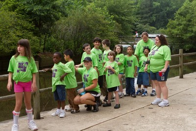 Camp Mays Kids At Memorial Park T-Shirt Photo