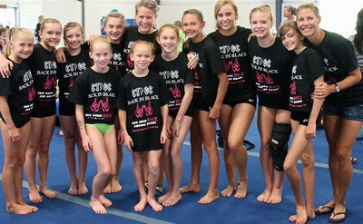 Ctcg At Flip Fest Gym Camp= Too Much Rock For One Hand! T-Shirt Photo