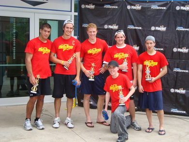 Lights Out Hockey Team T-Shirt Photo
