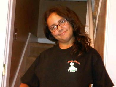 "Bella Rizzo's Pizza ""Gina"" T-Shirt Photo"