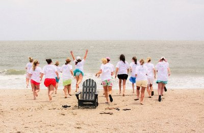 Beach Bachelorette Party T-Shirt Photo