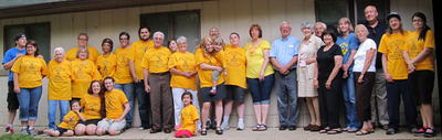 50th Wedding Anniversary Campout! T-Shirt Photo