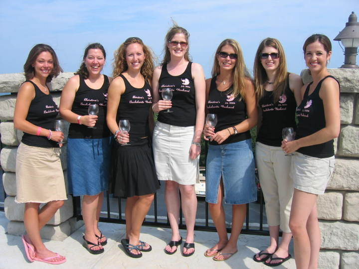 Christina's Bachelorette Weekend   July 2006 T-Shirt Photo