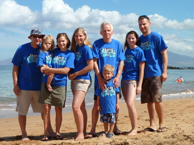 Krause Family Vacation T-Shirt Photo