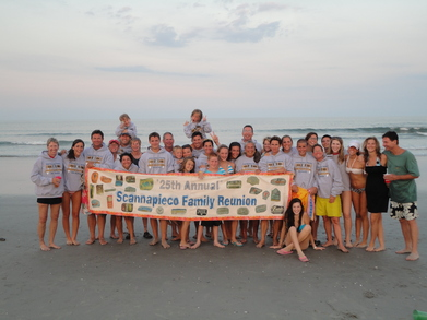 25th Scannapieco Family Reunion T-Shirt Photo