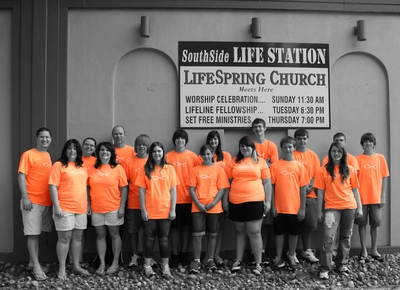 Orange You Glad We Used Custom Ink T-Shirt Photo