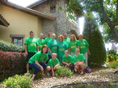 The Birthday Girls And Family T-Shirt Photo