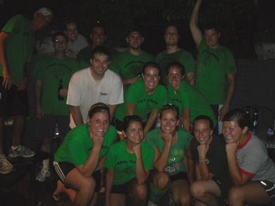 Gang Green Celebrates Their Bottom Of The 7th Heroics T-Shirt Photo