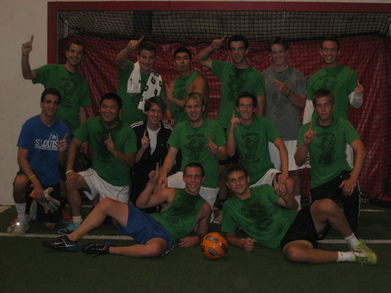Gashouse Gorillas Indoor Soccer Champions #1 T-Shirt Photo