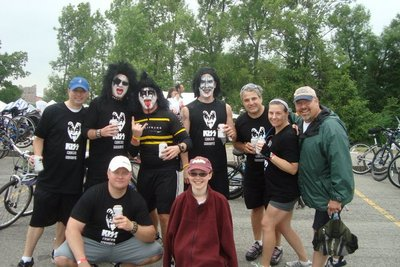 Kiss Cancer Goodbye T-Shirt Photo