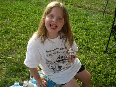 Katelynn At The Susquehanna County Relay For Life T-Shirt Photo