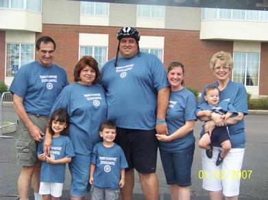 Proud To Support Steven Santoli  Ride To Cure Diabetes, Vt T-Shirt Photo
