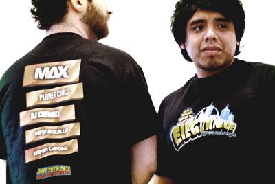 ÉLectrique Electronic Music Festival Merch T-Shirt Photo