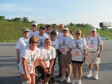 Team Gray Matters/ Brain Cancer Walk T-Shirt Photo