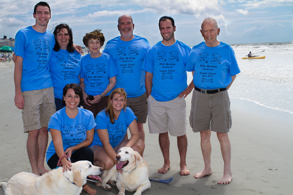 Sundance And Butchs 80th Birthday T Shirt Photo