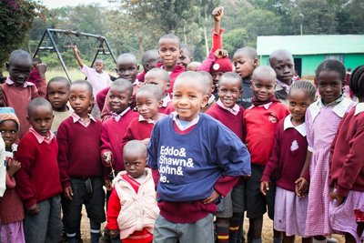 Shirts To Build The First Secondary School In Lenana, Kenya T-Shirt Photo