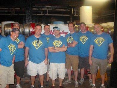 The Gutterunk Adventure Team Tours The Yeungling Brewery T-Shirt Photo